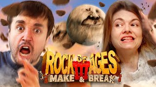 CUIDADO COM A GRANDE BOLA!!! - Rock of Ages 3