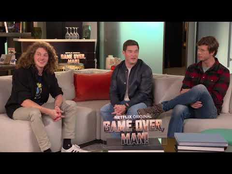 Game Over : Adam DeVine, Anders Holm, and Blake Anderson