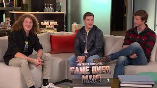 Game Over Interview: Adam DeVine, Anders Holm, and Blake Anderson