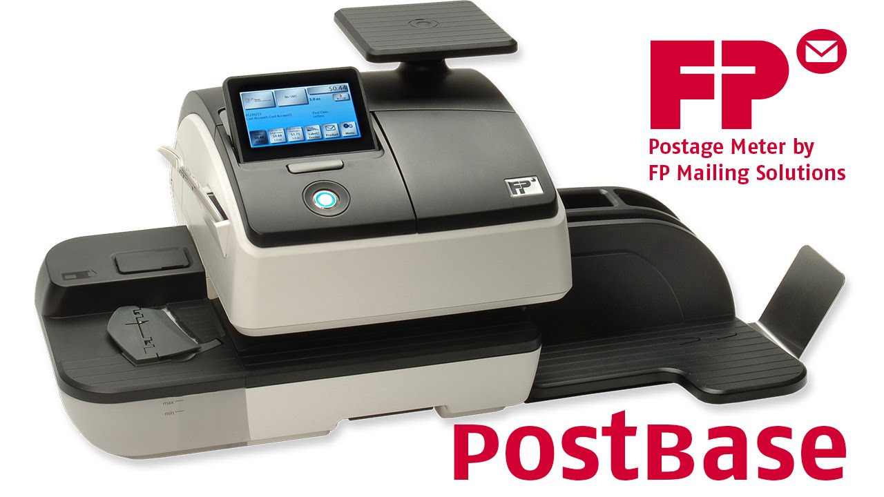 Postbase Postage Meter Tour By Fp You