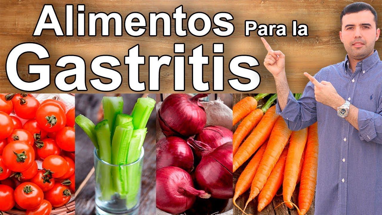 Dietas para curar el gastritis