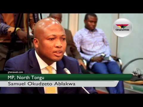 Samuel Okudzeto Ablakwa appears before Bribery Investigative Committee