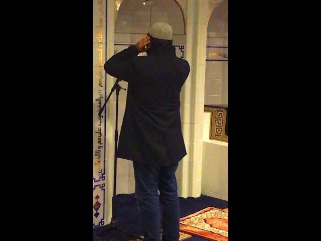 Adhan at ICC Masjid - Oslo, Norway (Wakas Mir)