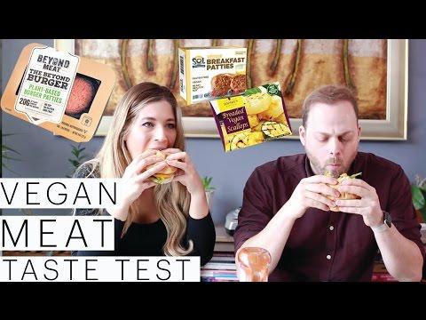 Vegan Taste Test | Beyond Meat Burgers | Vegan Scallops | Breakfast Sausage | The Edgy Veg