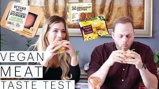 Vegan Taste Test | Beyond Meat Burgers | Vegan Scallops | Breakfast Sausage | The Edgy Veg