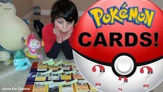 Pokemon Cards From My Friend! Jenna Em