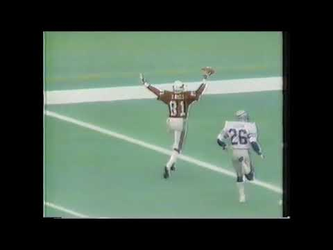 1983: Neil Lomax throws 4 TD passes to Roy Green vs Seattle Seahawks