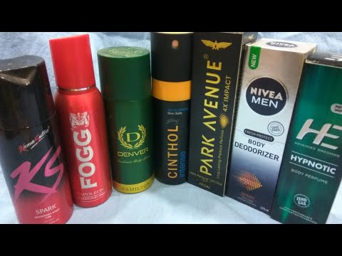 India's Most Trusted Fragrances / Deodorants for Men, My Personal View