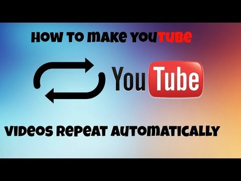 Repeat a Song on Youtube Automatically