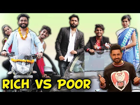 RICH VS POOR | Ft. Gippy Grewal | BakLol Video