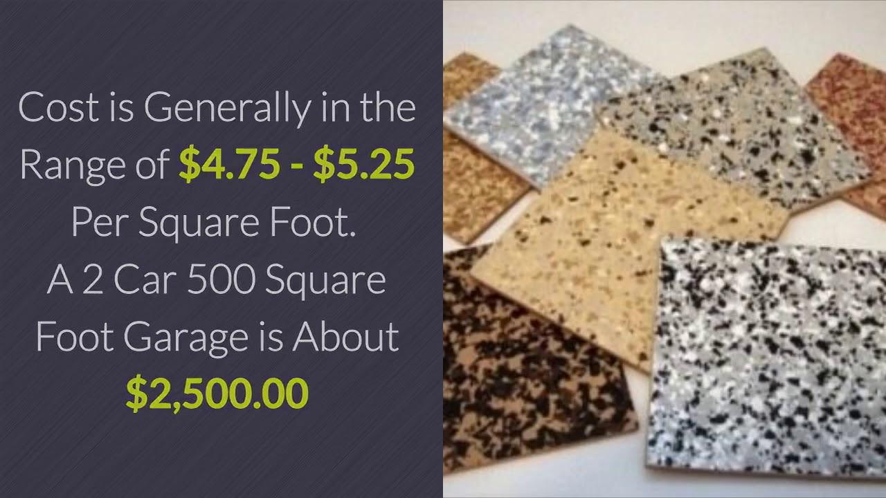 Garage Flooring Epoxy Coatings Cost