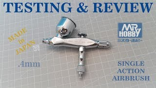 Unboxing and Testing Mr.Hobby PS-268 Procon Boy SQ Single-Action Airbrush