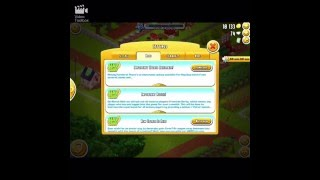 How to change farm in hay day from facebook in iPad/iPhone