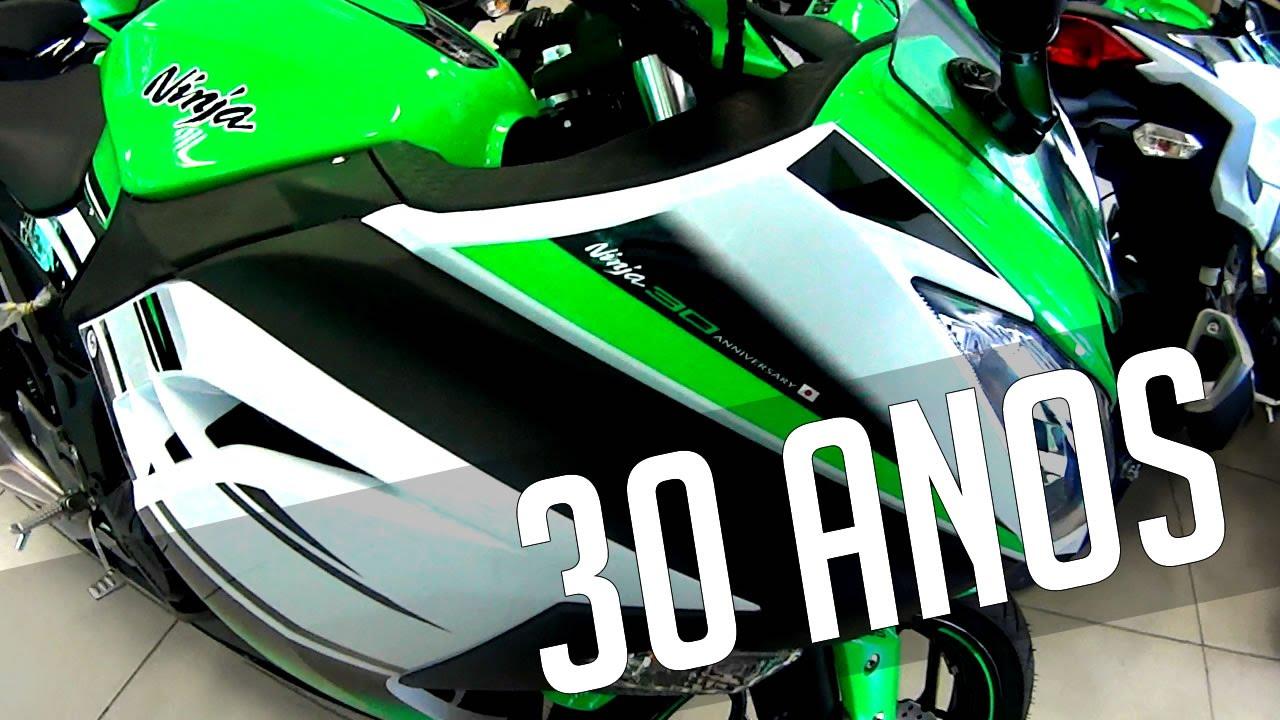 Kawasaki Ninja 300 30 Anos (Edição Especial) 2015 - YouTube