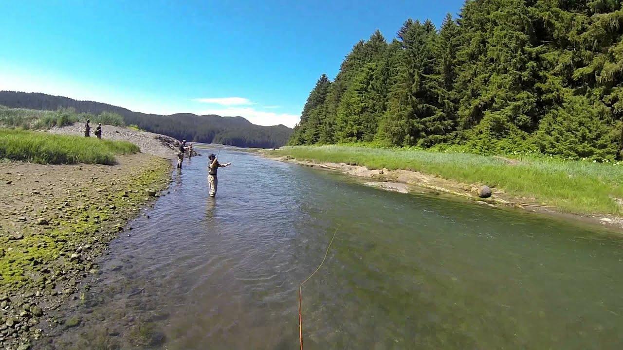 Fly fishing in juneau alaska youtube for Juneau alaska fishing