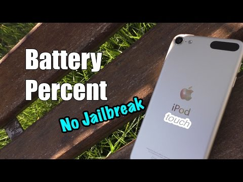 Enable Battery Percent On Ipod Touch Ios No Jailbreak