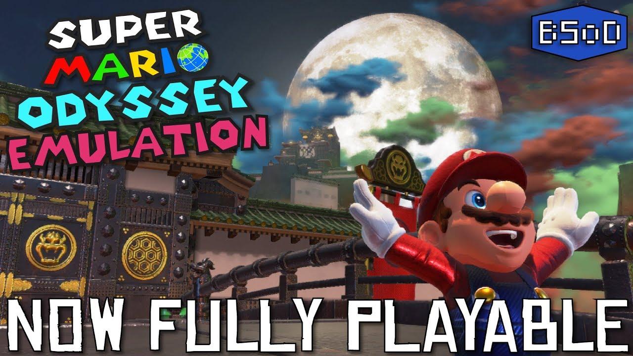 Super Mario Odyssey Fully Playable On PC With Yuzu Emulator Likely