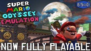 Super Mario Odyssey is now FULLY PLAYABLE on Yuzu Emulator
