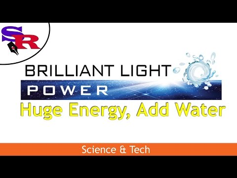 The Peaceful Revolutionary - Science & Tech - Brilliant Light Power, Huge Energy, Add Water