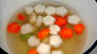 Seafood Wonton Soup