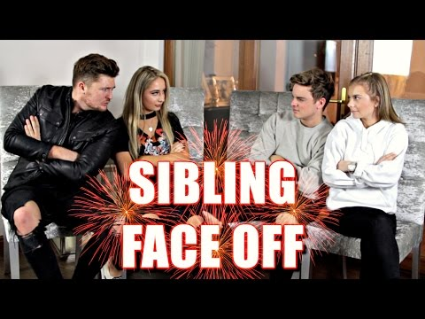 SIBLING FACE OFF  ft Saffron Barker & Mikey Pearce