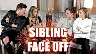 SIBLING FACE OFF | ft. Saffron Barker & Mikey Pearce