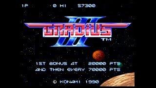 1990年、コナミ。名作シューティングゲーム第3弾。ゲーム中にポーズし...