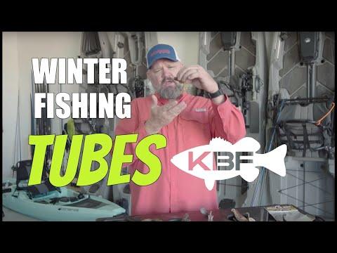 Winter Fishing How To | Fishing Tube Lures | Kayak Bass Fishing