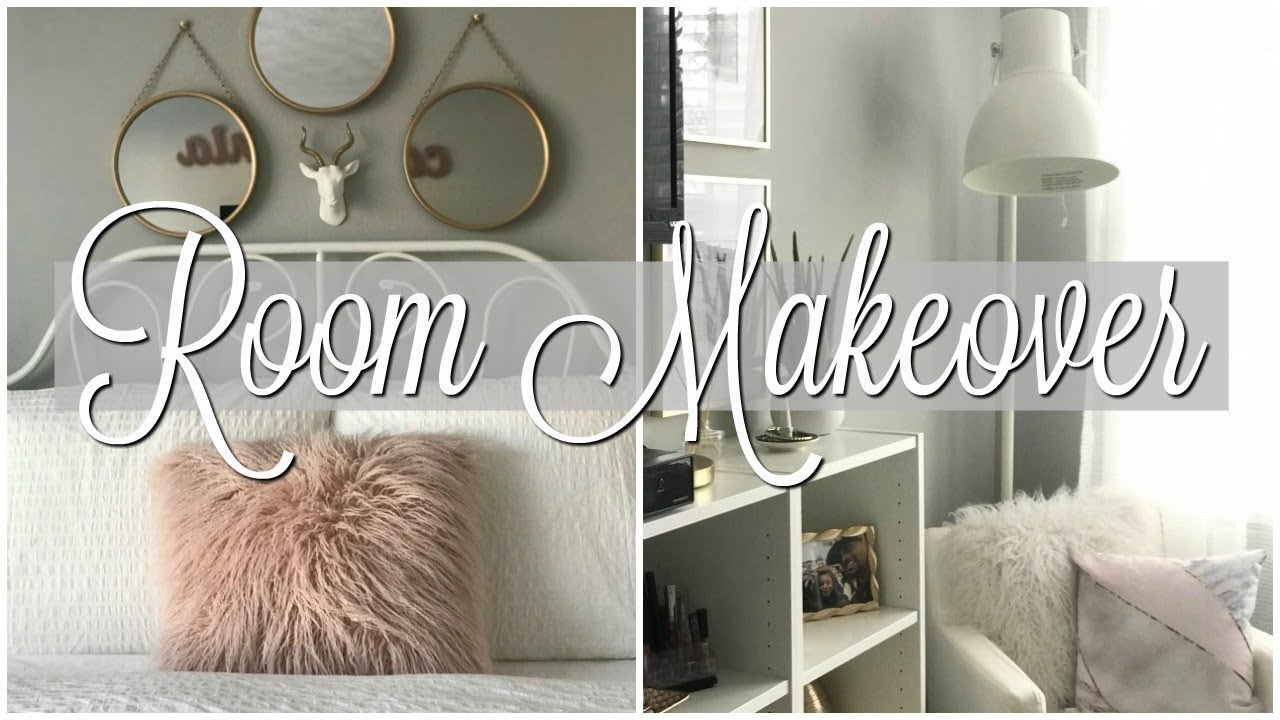 Teen Girl Bedroom Makeover/Tour