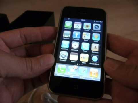 Test complet Apple iPhone 3GS 32Go Noir - partie 1/2
