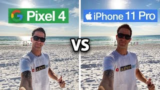 Pixel 4 XL vs iPhone 11 Pro CAMERA Test Comparison
