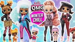 LOL Surprise OMG WINTER CHILL Big Sisters FULL COLLECTION!