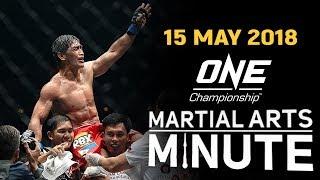 Martial Arts Minute | 15 May 2018