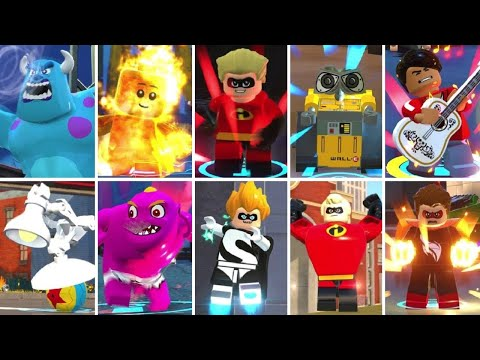 Character Super Moves in LEGO The Incredibles |