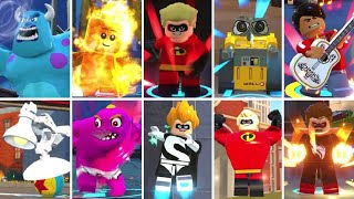 Character Super Moves in LEGO The Incredibles