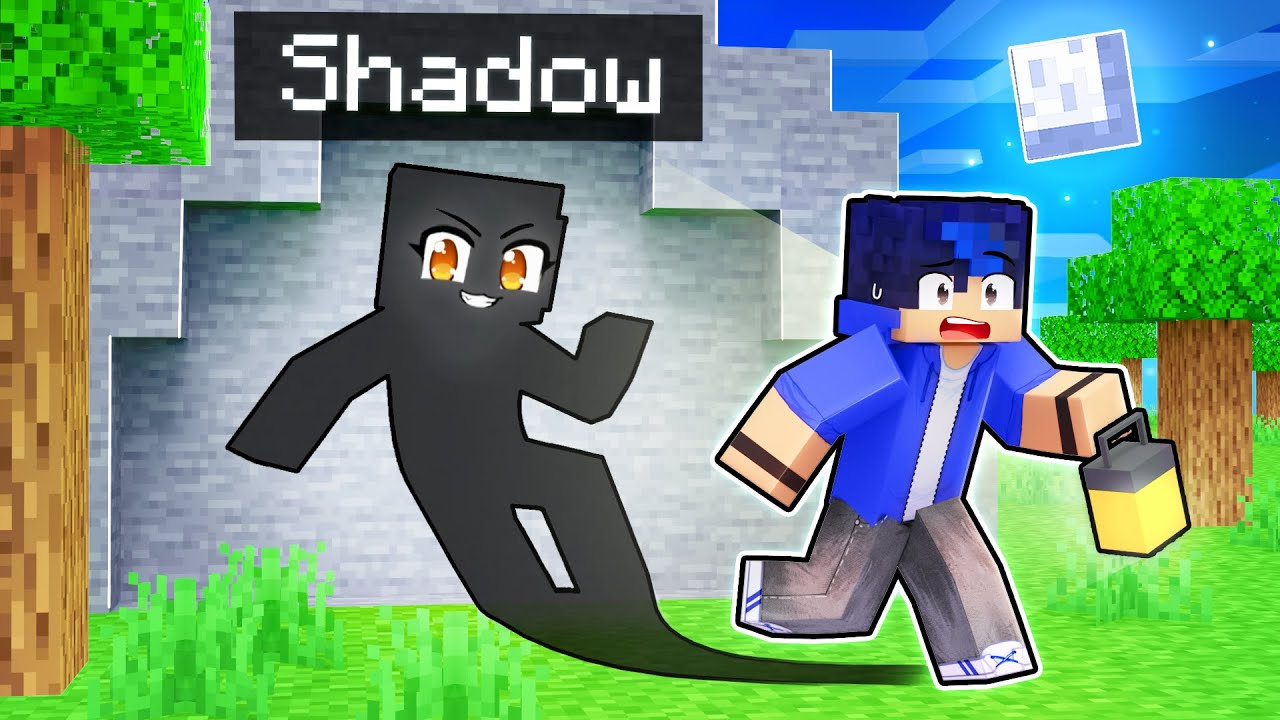 Download Becoming My Friend's SHADOW In Minecraft!