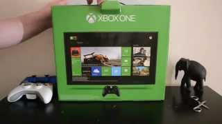 Xbox One 500GB Console - Unboxing