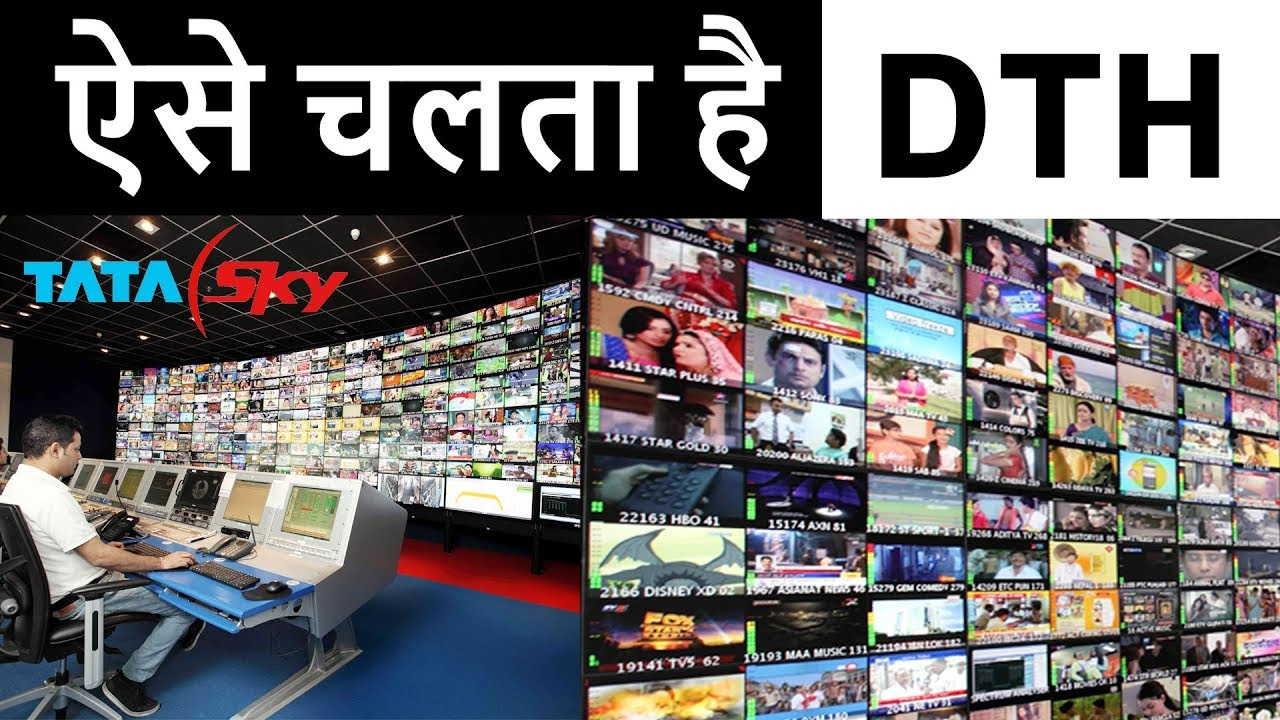 How DTH Works via Satellite in HINDI   Real Cost Of TV Channels   Satellite  TV vs Cable TV Working