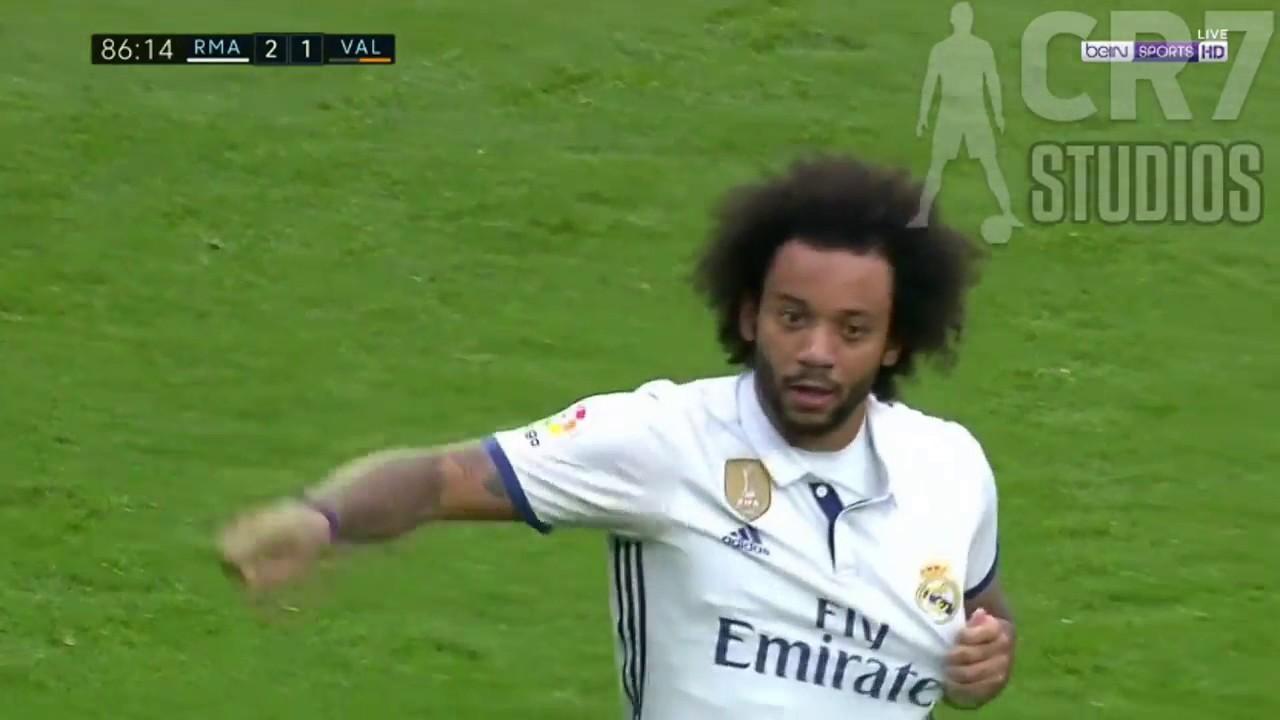 Download Marcelo Goal   Real Madrid vs Valencia 2 1   La Liga 2017 HD