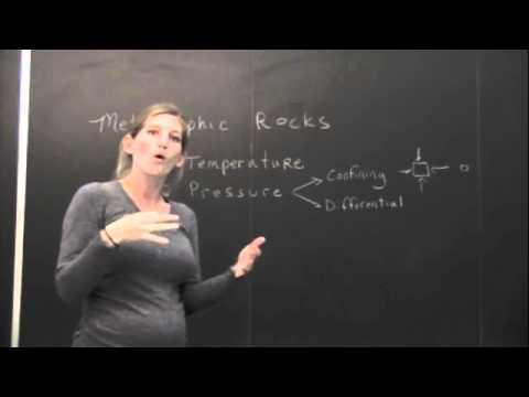 JLEWIS:  Metamorphic Rocks Lecture - Segment 1