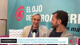 Alain Groenendaal para ZappingLatam y Marketing Directo en #ElOjo2016