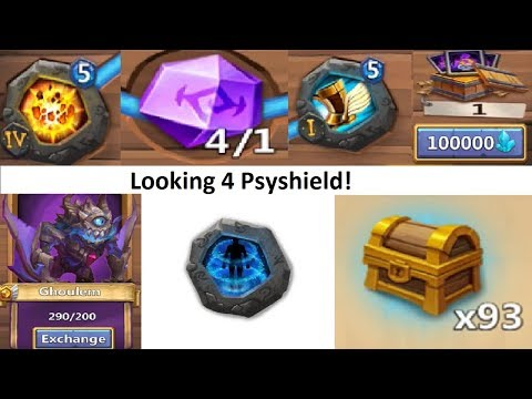 JT's F2P FIRST Level 6 Insignia Forging Crests Opening Rewards Castle Clash