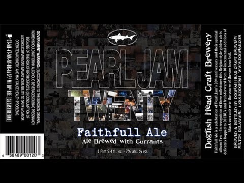 Dogfish Head Faithfull Ale (Peral Jam Tribute) | Beer Geek Nation Beer Reviews Episode 267