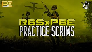🔴 PBExRBS PRACTICE SCRIMS 🔴 CASTER - KPopcorn  🔴 3 \u0026 4 p.m  29.07.2020