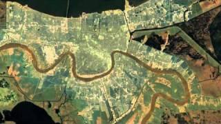 Вид земли из космоса с гипер-приближением(Всем смотреть! очень впечатляющее видео! Плавное приближение земли из космоса и в итоге видим один из район..., 2010-08-11T07:55:53.000Z)