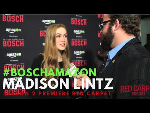 Madison Lintz at the