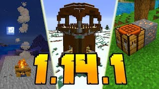 Minecraft 1.14.1: Co Nowego?!
