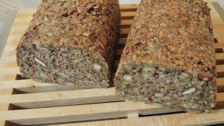 Rezept: Glutenfreies Powerbrot (100% vegan, 100% frei von Gluten)
