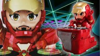 鋼鐵人聲光玩具車 Iron Man TOY|跳舞機器人|鋼鐵人變成電音DJ|復仇者聯盟【 love TV小寶愛你笑】