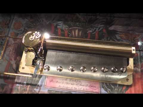 72 Note Sankyo Moldau Music Box